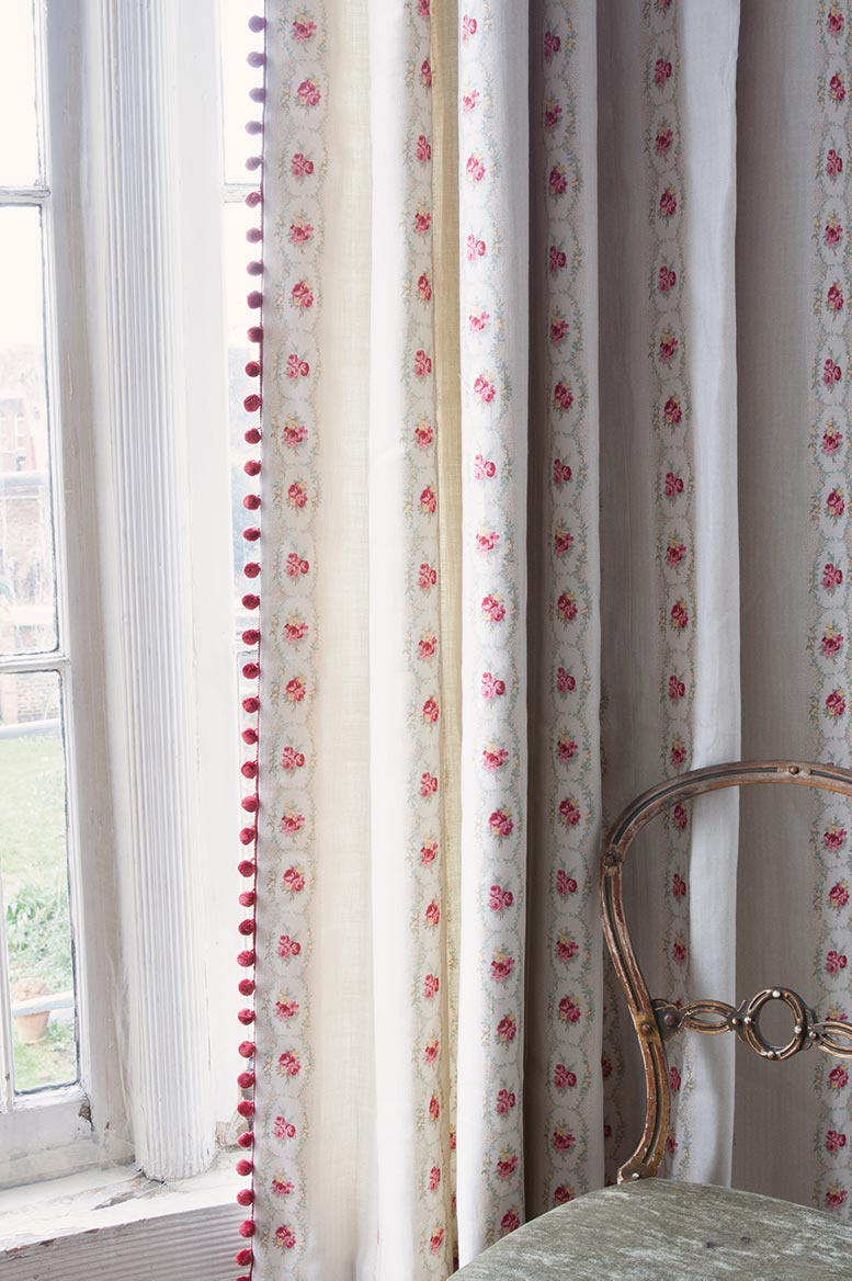 Cameo Rose Curtain