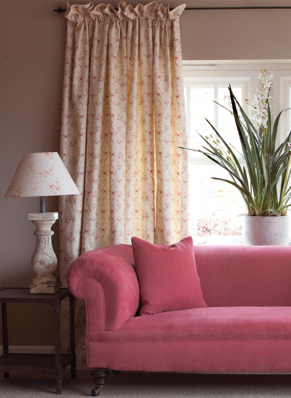 Red-Stonewash-Sofa