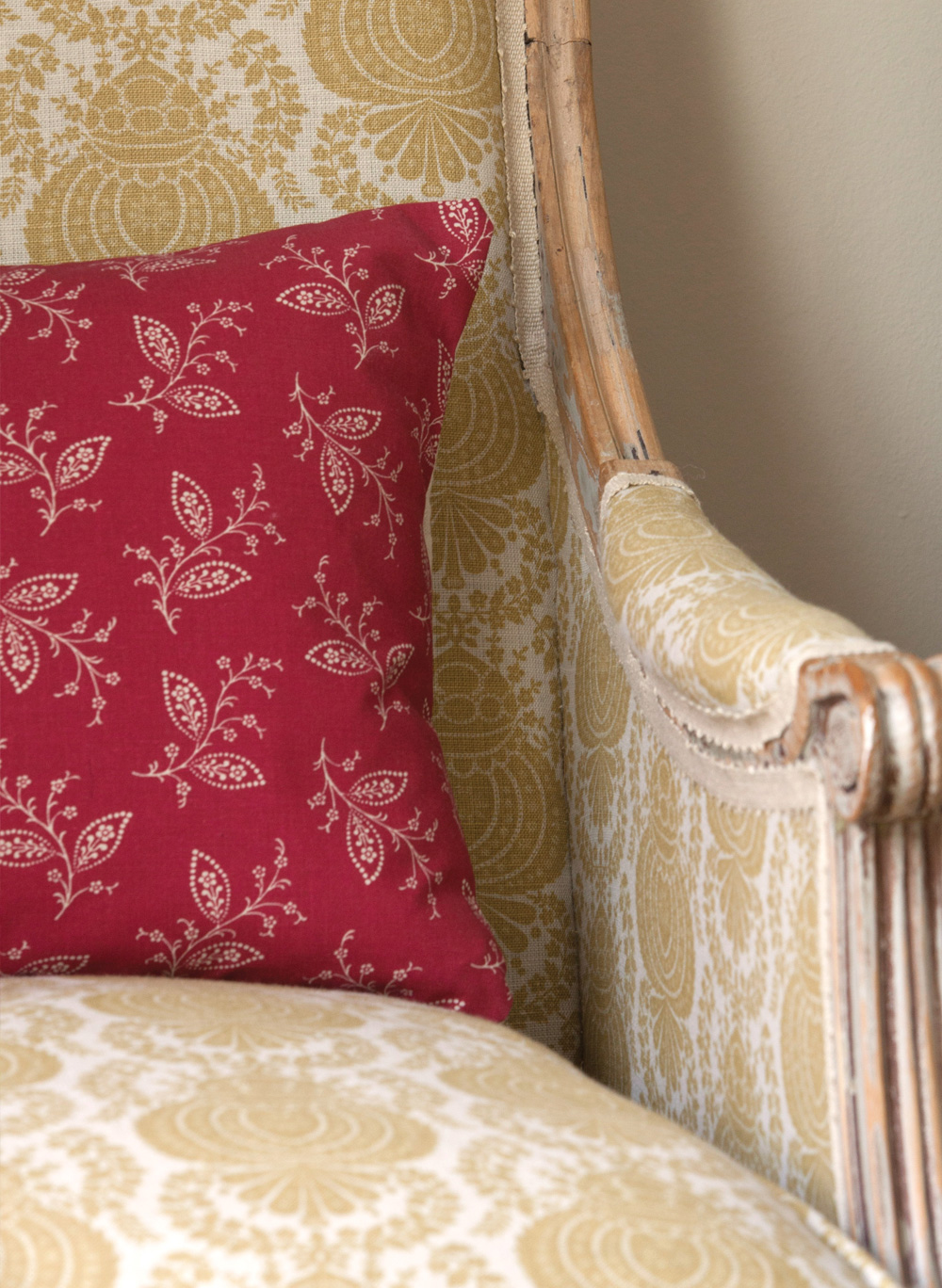 Thelma-Red-Cushion