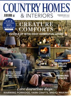 Country Homes & Interiors Feb Cover