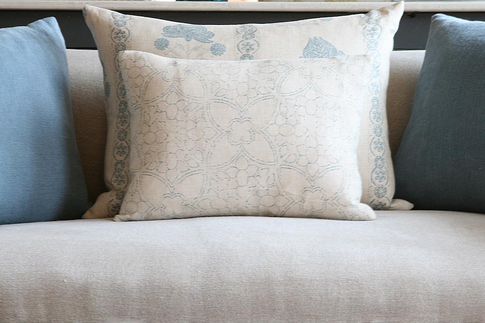 Blue Manon Cushion