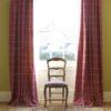 dark camille curtains