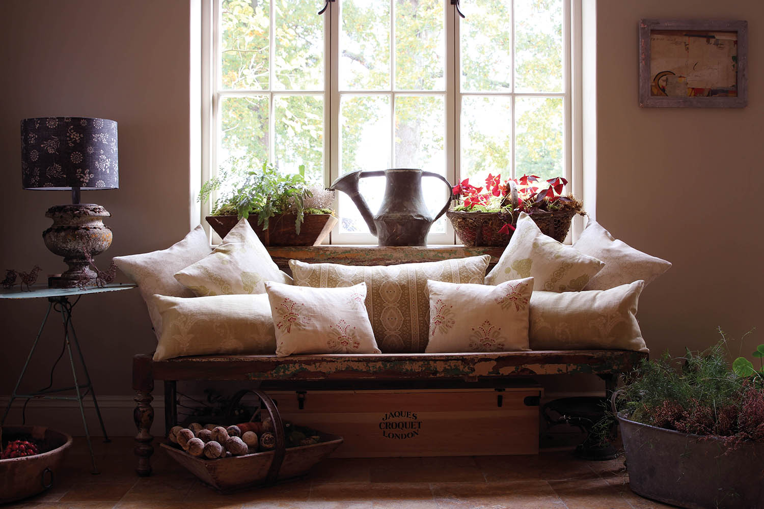 Selection of Green Cushions