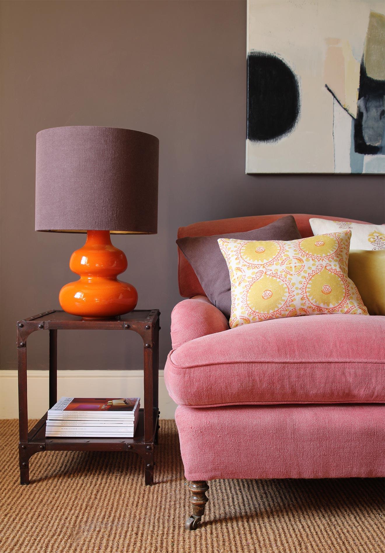 Himani Saffron Cushion