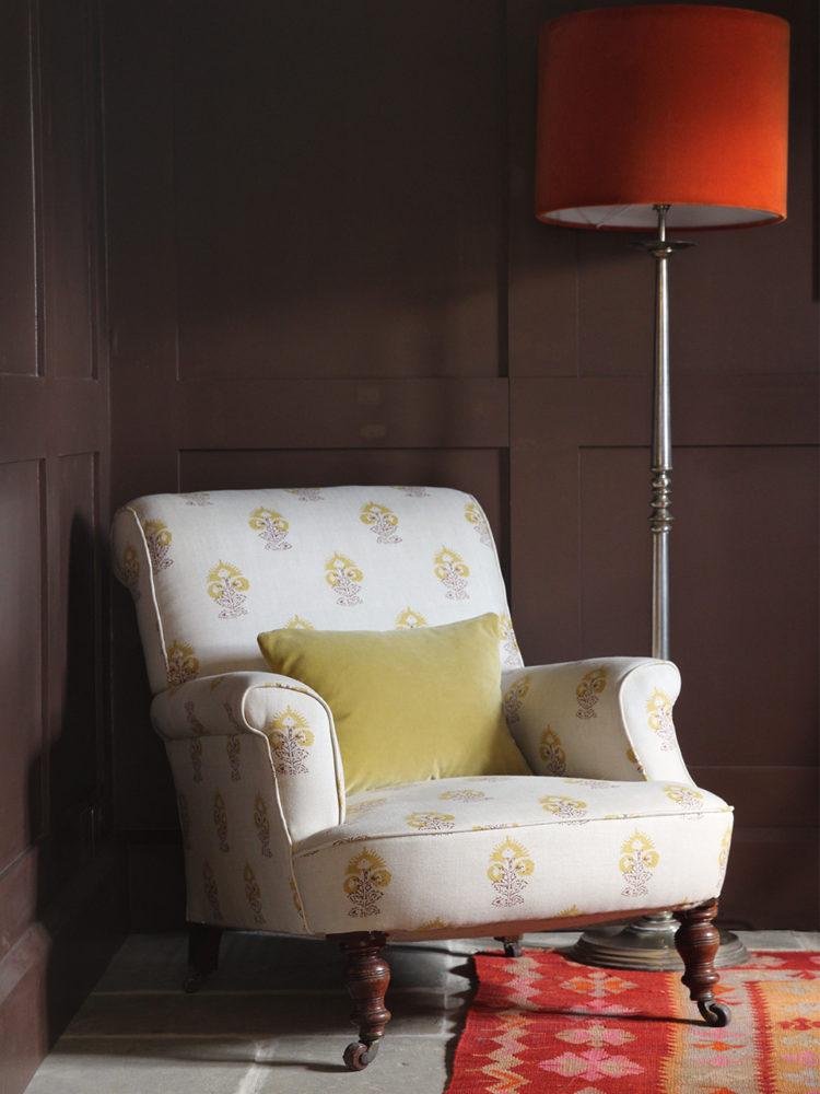 Iona Yellow Chair