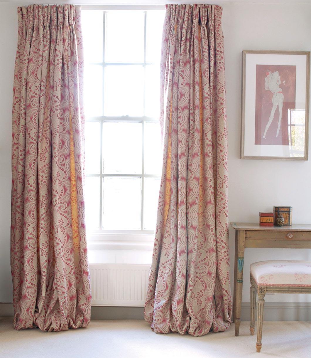 Celeste Pink Curtains v2